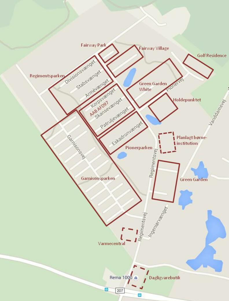 Farum Kaserne beboelser 09JUN15